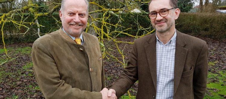 Pierre Olivier Drege et Antoine de Bonnault - président et vice président de la coopérative Nord Seine Forêt 2a